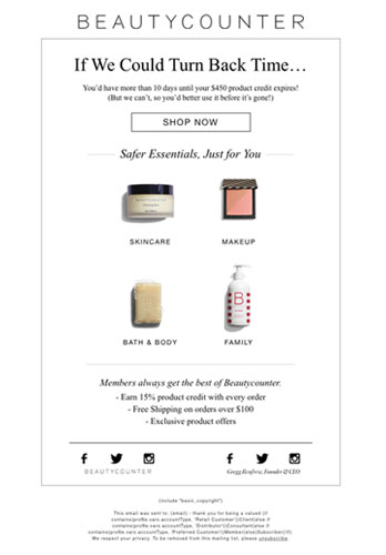 Email Newsletter Examples, Business Email Templates Sample ...