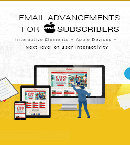 Email Advancement for Apple Subscribers Infographic