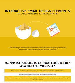 Interactive Email Design Elements