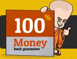 100% Money Back Guarantee – Email Monks